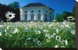 Badenburg in the Palace Garden of Nymphenburg Palace  Munich  Upper Bavaria  Bavaria  Germany