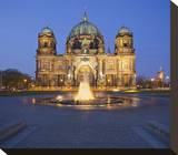 Berlin Cathedral with Lustgarten  Berlin  Germany
