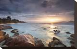 Anse Severe beach  La Digue Island  Seychelles
