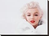 Marilyn Monroe (White) Tableau sur toile