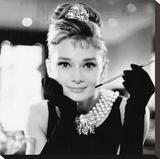 Audrey Hepburn, Breakfast at Tiffanys Tableau sur toile