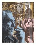 Don't Try - Bukowski Sérigraphie par Print Mafia