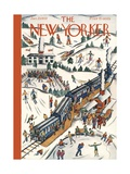 The New Yorker Cover - January 23  1937