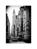 Urban Scene  401 Broadway  Soho  Manhattan  NYC  White Frame  Full Size Photography