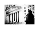 Statue of George Washington  New York Stock Exchange Building  Wall Street  Manhattan  NYC