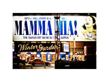 Mamma Mia! the Smash Hit Musical (Abba)  Winter Garden  Times Square  Manhattan  New York