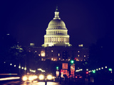 The Capitol Building  United States Congress  Washington DC  District of Columbia  Vintage