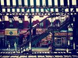 Subway Station  Williamsburg  Brooklyn  New York  United States  Vintage