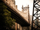 Ed Koch Queensboro Bridge (Queensbridge) View  Manhattan  New York  United States  Vintage