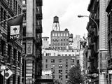 Architecture and Buildings  Greenwich Village  Nyu Flag  Manhattan  NYC
