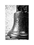 The Liberty Bell  Philadelphia  Pennsylvania  US  White Frame  Full Size Photography