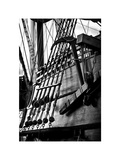 Ropes and Anchor El Galeon  Authentic Replica of 17th Century Spanish Galleon at Pier 84  New York