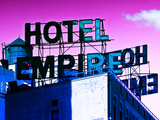 Rooftop  Hotel Empire  Footsteps of Gossip Girls in NYC  Upper West Side of Manhattan  New York