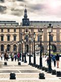 The Louvre Museum  Paris  France