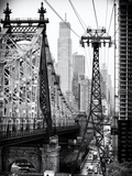 Roosevelt Island Tram and Ed Koch Queensboro Bridge (Queensbridge) Views  Manhattan  New York
