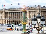 Tilt Shift Series  Art Modern  Place De La Concorde  Paris  France