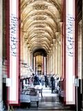 Urban Vibrations Series  Fine Art  Louvre  Café Marly  Paris  France