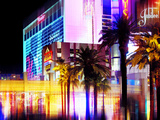 Urban Stretch Series  Fine Art  Strip  Casino  Las Vegas  Nevada  United States