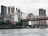 Ed Koch Queensboro Bridge  Sutton Place and Buildings  East River  Manhattan  New York  US