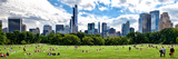Panoramic Landscape  a Summer in Central Park  Lifestyle  Manhattan  New York City