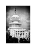 The Capitol Building  US Congress  Washington DC  District of Columbia  White Frame