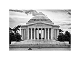 The Thomas Jefferson Memorial  Washington DC  District of Columbia  White Frame