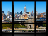 Window View  Special Series  Downtown Manhattan  Empire State Building  New York City  US