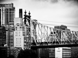 Ed Koch Queensboro Bridge  Roosevelt Island Tram Station  Manhattan  New York