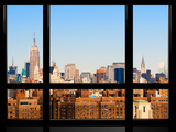 Window View  Special Series  Downtown Manhattan  New York  United States