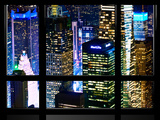 Window View  Special Series  Landscape by Night  Manhattan  New York City  United States
