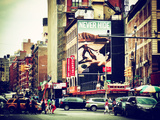 Urban Scene  Chinatown  Manhattan  New York  United States