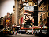 Urban Scene  Chinatown  Manhattan  New York  United States  Vintage