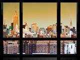Window View  Special Series  Downtown Manhattan  Empire State Building  New York  United States