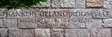 Panoramic Stone Memorial Franklin Delano Roosevelt  Washington DC  District of Columbia