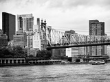 Ed Koch Queensboro Bridge  Sutton Place and Buildings  East River  Manhattan  New York