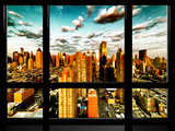 Window View  Theater District and Times Square Views  42 Street  Midtown Manhattan  NYC