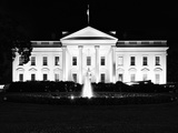 The White House by Night  Official Residence of the President of the US  Washington DC