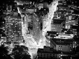 Lifestyle Instant  Flatiron Building by Nigth  Black and White Photography  Manhattan  NYC  US
