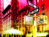 Urban Stretch Series  Fine Art  Building Colors  Soho  Manhattan  New York City  United States