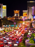 Tilt Shift Series  Strip  Las Vegas  Nevada  United States