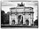 Arc De Triomphe du Carrousel  Louvre Museum  Paris  France