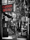 Urban Scene  Corner Bistro  Meatpacking and West Village  Manhattan  New York