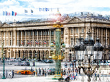 Urban Vibrations Series  Fine Art  Place De La Concorde  Paris  France