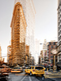 Urban Vibrations Series  Fine Art  Flatiron Building  Manhattan  New York City  United States