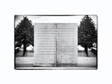 FDR Four Freedoms Park  Memorial to the President  Roosevelt Island  Manhattan  New York