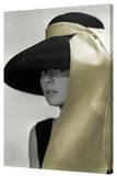 Audrey Hepburn - Gold Hat