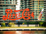 Pepsi Cola Bottling Sign  Long Island City  New York  United States  Vintage