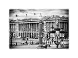 Place De La Concorde  Hotel Crillon and the Ministry of the Navy  Paris  France