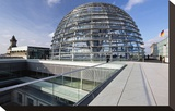 Dome of the Reichstag Building  Berlin  Germany