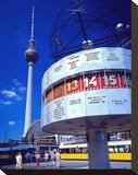 Worldclock Alexanderpl Berlin